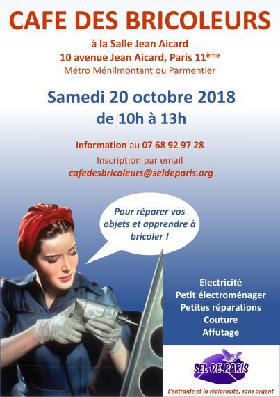 AfficheCaféDesBricoleursSdP20Oct2018